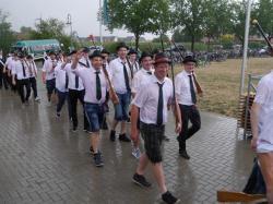 085Antreten des Bataillons Ausholen Königspaar