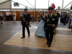 095Antreten des Bataillons Ausholen Königspaar