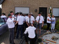 043Antreten des Bataillons Ausholen Königspaar