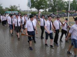 081Antreten des Bataillons Ausholen Königspaar