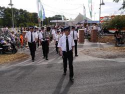 005Ausholen des neuen Königspaares und Parade