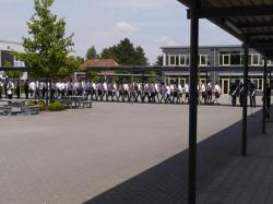 011Antreten des Bataillons Ausholen Königspaar