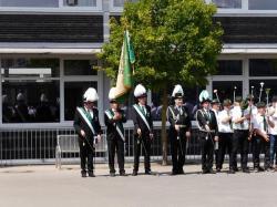 014Antreten des Bataillons Ausholen Königspaar