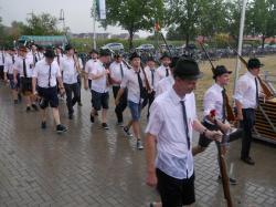 078Antreten des Bataillons Ausholen Königspaar